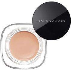 Marc Jacobs Beauty Re(Marc)able Full Cover Concealer (230 DKK) ❤ liked on Polyvore featuring beauty products, makeup, face makeup, concealer, beauty, 34. foundation & blush., 32. foundation & blush., creamy concealer, dark circle concealer and marc jacobs concealer