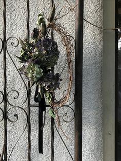 紫陽花のリース hiromi yoshimoto