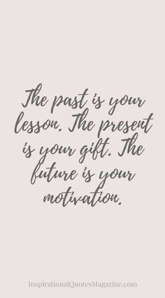 The past can't decide wht u can do in the future...
