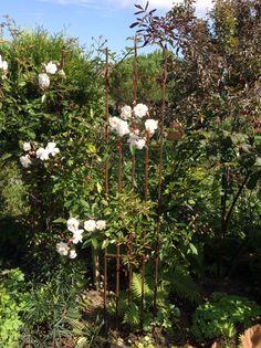Support pour rosier et plantes grimpantes.           A vendre à l'atelier à la campagne...