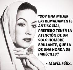 María Félix #Mujer #Mexicana