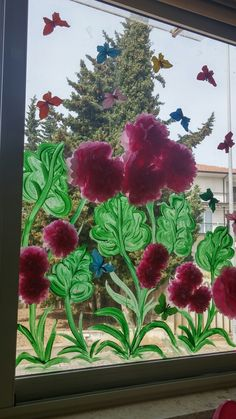 English Lesson Plans, English Lessons, Toddler Classroom, Window Art, Autumn Activities, Paper Flowers, Diy And Crafts, Art Projects, Kindergarten