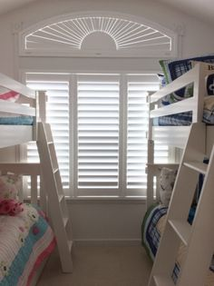 We offer custom and specialty-shaped window treatments for uniquely shaped windows, including arches, French doors, and sliding glass doors. Arched Window Coverings, Arched Windows, Shaped Windows, Custom Shutters, House Shutters, Custom Window Treatments, Wood Blinds, Sliding Glass Door, Bay Window