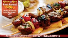 Kebab Festival : For all the Kebab lovers Hotel Winway is set to serve you the tastiest Kebabs in town from 28th September till 6th October...