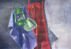Kerosene lamp #basket #kerosene #lamp #painting #academic #art