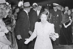 """Margaret Mitchell at the Gone With the Wind movie premiere party in Atlanta. (Also """"10 Things You Might Not Know About Gone With the Wind"""")"""