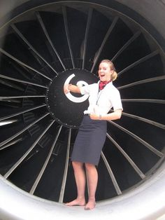 British Airways - Engine Crewfie