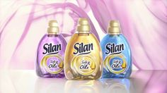 Reclama Silan Soft&Oils Sport Fitness, Orice, Gold, Fragrance, Yellow