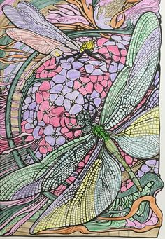 Amazon Manic Botanic Zifflins Coloring Book Fanciful And Fantastic Animals Plants
