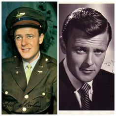 Robert Sterling-Army Air Force-WW2-served as a flight instructor (Actor)