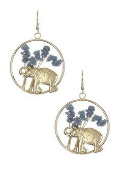 Elephant Stroll Earrings