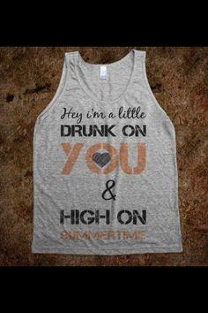 A Luke Bryan t-shirt.