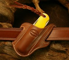case trapper knife sheath | Knife Sheath Forward Slant JumboTrapper Right Side