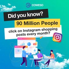 90 million people click on Instagram shopping posts every month? Digital Marketing Services, Seo Services, Content Marketing, Social Media Marketing, Youtube Advertising, Google Ads, Competitor Analysis, Social Networks, Did You Know