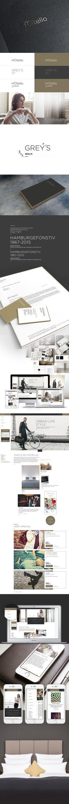 H'Otello - Branding & Webdesign on Behance