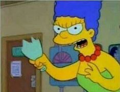 When you lose your mom's Tupperware Simpsons Meme, The Simpsons, Cartoon Icons, Cartoon Memes, Funny Memes, Cartoons, Reaction Pictures, Funny Pictures, Response Memes