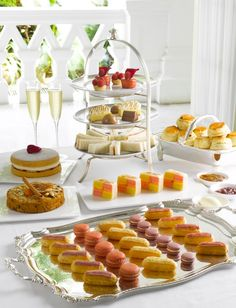 Champagne Afternoon Tea at The Raffles Hotel, Singapore