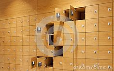 This is an example of a mass lockers, they seem to be all one unit, it looks as if they are all butt joints