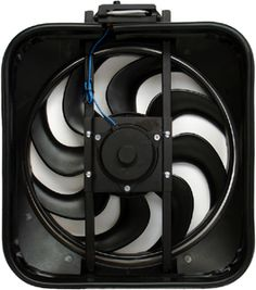 Proform 67029 S-Blade Electric Fan with Thermostat Electric Cooling Fan, Electric Fan, Ford Mustang Parts, Radiator Fan, Performance Parts, Radiators, Blade, Engineering, The Unit