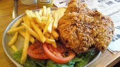 OKlahoma - Chicken Fried Steak Sandwich - 50 States, 50 Sandwiches - Zagat