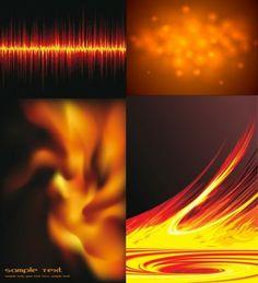 beautiful flame vector clip 2