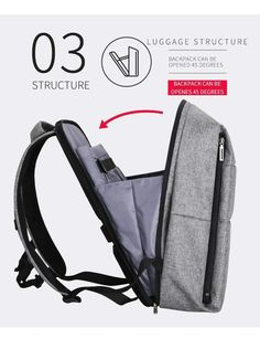 New Inch Casual Laptop Water-Repellent Travel Backpack Bag with Battery Slot for USB Charging Laptop Backpack, Travel Backpack, Backpack Bags, Men's Backpacks, Stylish Backpacks, Mark Ryden, Anti Theft Backpack, Smart Men, Eve Online