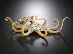 Glass blue-ringed octopus by Joe Peters