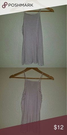 Shirt Red and white striped, never worn, like new Mossimo Supply Co. Tops Tank Tops