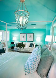 master bedroom seating area in HGTV's 2016 Dream Home