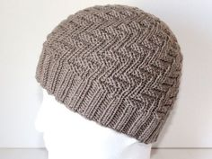 Slouch Beanie, Caps Hats, Knitted Hats, Knitting Patterns, Cross Stitch, Butterfly, Crochet, Blog, Beanies