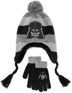 57e0120c547 from amazon.com · Star Wars Boys  or Little Boys  Darth Vader Hat  amp   Gloves Set All