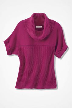 Mixed Stitch Dolman Sweater - Sweaters   Coldwater Creek