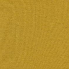 Organic Cotton Baby Rib Knit Yellow Fabric -- Walmart