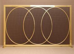 ovals Custom Fire Screens