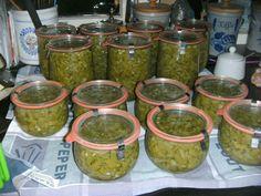 Chutney, Guacamole, Pickles, Mason Jars, Mexican, Canning, Ethnic Recipes, Food, Home Decor