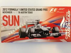 Ready and counting the days for the Austin F1 GP !!!!