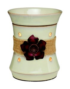 The Roselyn warmer! I love it! It reminds me of a hibiscus my favorite flower <3 see this and more at brittanyyost.scentsy.us