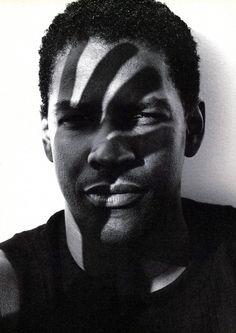 Denzel Washington for Interview, 1990 by  Herb RITTS