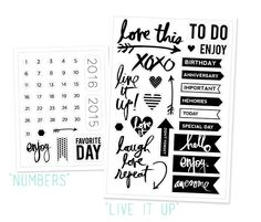 Exclusive Heidi Swapp stamps available only at Studio Calico