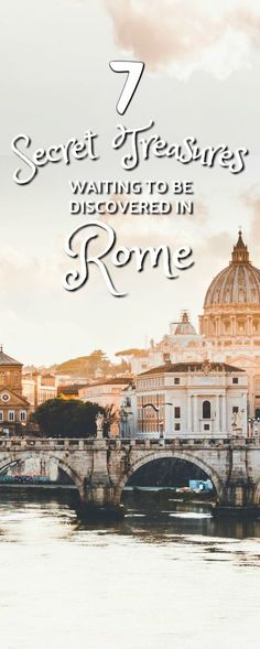 Rome, Italy attractions. Here are 7 secret treasures waiting to be discovered! #Rome rome italy attractions   rome italy attractions vatican   rome italy attractions architecture   rome italy attractions romans   rome italy attractions beautiful  