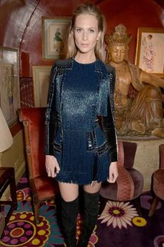 Poppy Delevingne | Balmain store opening party, London - March 16 2015
