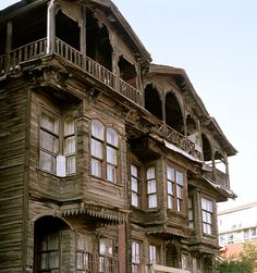 Istanbul Photograph - The Old Ottoman House by Shaun Higson Romanesque Architecture, Cultural Architecture, Education Architecture, Classic Architecture, Concept Architecture, Residential Architecture, Architecture Design, Turkish Architecture, Architecture Sketches