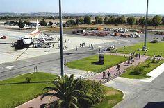 Aeropuerto de Jerez (XRY) en Jerez de la Frontera, Andalucía