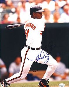 "Jeffrey Hammonds Baltimore Orioles Signed 8x10 Photo Rockies 1993-2005 SL SOA . $15.00. Baltimore Orioles OFJeffrey HammondsHand Signed 8x10"" PhotoJeff Played For:Baltimore Orioles (1993-1998)Cincinnati Reds (1998-1999)Colorado Rockies (2000)Milwaukee Brewers (2001-2003)San Francisco Giants (2003-2004)Washington Nationals (2005)WONDERFUL AUTHENTIC BASEBALL COLLECTIBLE!!AUTOGRAPH GUARANTEED AUTHENTIC BY SPORTS LOT, INC. WITH NUMBERED SPORTS LOT, INC. STICKER ON ITEM SPORTS LOT..."