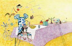 Piepkleine muis (met cd) - gebaseerd op het lied 'The tiny mouse' van Janis Ian. Met illustraties van Ingrid & Dieter Schubert