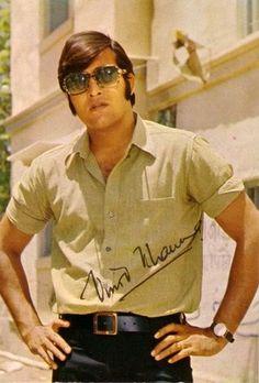 …And I Wept for Vinod Khanna, my Teenage Crush! Bollywood Posters, Bollywood Cinema, Bollywood Actors, Bollywood Fashion, Bollywood Party, Vintage Bollywood, Indian Bollywood, Vinod Khanna, Most Handsome Actors