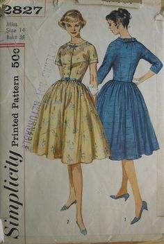 Simplicity 2827 love this pattern