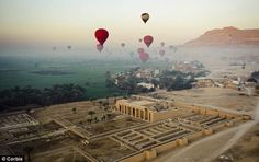 Hot Air Balloons over Egypt