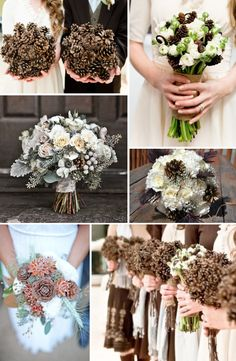 winter-wedding-bouquets-with-pinecones.001