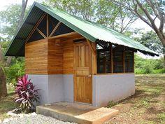 A tiny, tropical house